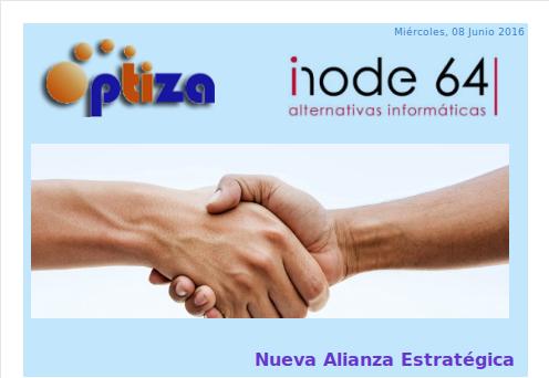OPTIZA % INODE64